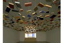 LIBRERIA CREATIVA / #Libreria che raccoglie cover di #libri, allestimenti, installazioni, pagine e qualsiasi idea creativa realizzata coi #libri.