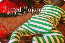 Sew Free: Child - Sleep / Free sewing tutorials and patterns for children's sleepwear