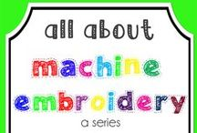 Embroidery/Applique: Tips and Tricks / Tips, tricks, helpful ideas for embroidery and applique