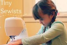 Teaching Children to Sew / Teaching children to sew (or, you know,  anybody else who wants to learn)