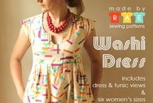 Sew: Adult - Dresses/Tops / Sewing tutorials and patterns for adult's dresses and tops