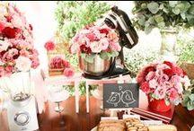 Chá de cozinha - Bridal Shower / Ideias para organizar um chá de cozinha