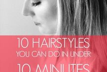 Hair for school / Easy hairstyles for school! Most of these take less than 5-10 minutes to do! Yay