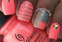 Nails / Easy and cute nail designs