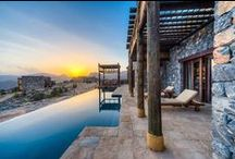 """Alila Jabal Akhdar / Jabal Akhdar, meaning """"The Green Mountain"""" in Arabic, is part of the Al Hajar mountain range, one of Oman's most spectacular regions. Perched here 2,000 metres above sea level, Alila Jabal Akhdar overlooks a dramatic gorge, surrounded by awe-inspiring views of the Al Hajar Mountains. This Oman resort is the perfect base for exploring the region's magnificent landscape of rugged, untouched beauty while experiencing the height of sumptuous comfort."""