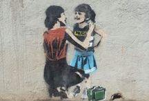 Spunk Stencil / Street Art Stencil Spunk
