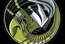 Alien and Predator / Hunter Monster Prey