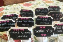 Thai Catering Signs