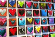 Hearts to love I / my favorite shape-they're everywhere! / by Cheryl Kuhl-Schadt
