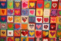 Hearts to love IV / hearts are everywhere!  there are some on all of my boards / by Cheryl Kuhl-Schadt
