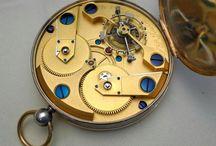 Horlogerie / Je tiens beaucoup à ma montre, c'est mon grand-père qui me l'a vendue sur son lit de mort - Woody Allen / by Dylan Gout