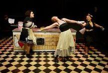 BABET, cuina a 3 veus / Espectáculo de teatro musical de la cia. Les Cot estrenado en el Círcol Maldà en julio de 2013 y temporada en el Versus Teatre en Octubre/Noviembre de 2013