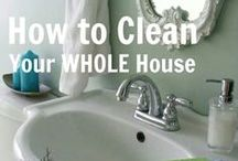 Natural Cleaning Tips / Natural Cleaning Tips - clean your home with safe, all natural products to save money and keep your family healthy!