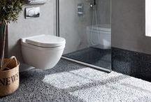 Comment poser des galets ? / La démarche étape par étape pour la pose de galets ou pierre naturelle (mosaïque, panthéon, frise ...) dans votre salle de bain ou sur le sol de votre terrasse !