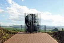 Nelson Mandela Capture Site / In 1962, on 5 August, this otherwise ordinary piece of road along the R103, approximately five kilometers outside Howick, KwaZulu-Natal, suddenly took on profound consequence. Armed apartheid police flagged down a car in which Nelson Mandela was pretending to be the chauffeur.  It was in this dramatic way, at this unassuming spot, that Nelson Mandela was finally captured and arrested on the Midlands Meander.