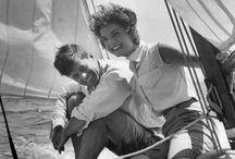 John and Jackie Kennedy / by Laura Frandsen Kraemer
