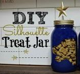 Doggie DIY / Homemade Project Ideas for the Pups! Everything from dog beds, to dog clothing, to dog treats and treat jars! Get your creative juices flowing on our dog DIY board!