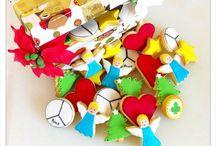Cajas de Navidad 2015-16 / Caja de la suerte y caja mágica para los más peques.  www.memcakesandcookies.com