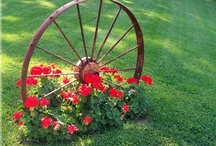 """Garden Ideas / Also see the my boards - """"Container Gardens"""" and """"Outdoor Rooms & Garage Upgrades"""" and """"Garden Growing Things"""" / by Judy"""