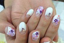 Nail / Japanese nail salon experience. Art nail by Gel.