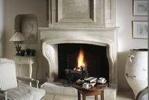 Stone and Gothic Mantels