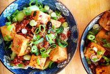 ½ viande ½ tofu