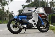 Honda Cub / The most fashion vintage Moped !!  Vespa is dead....