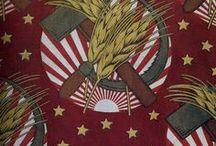 Sovjetisk tekstildesign