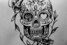 tattoo / coleção de tatuagens, com várias técnicas e cores | tattoo collection using different technigues and colors.
