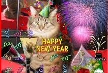 christmas and newyears / Hole dir die vielen Geschenke aus meinem Adventskalender - Ich wünsche dir einen guten Rutsch ins Neue Jahr!