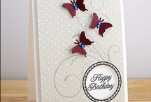 Cards Butterflies / by Barbara Tomany