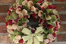 Wreaths On My Door / Door and wall wreaths for all seasons and occasions. / by Steve Lewis