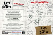 Flyers / Siuggestions for Artsandcrats.gr campaign.