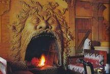 Dreamy Fireplaces