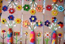 Kleuters thema lente / Leuk om in de klas te doen rondom thema lente