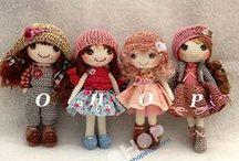куклы крючком+мк