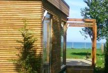krapec / wooden beach  house in krapec bulgaria