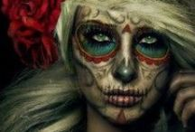 Halloween make up and style