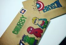 Candy Mail / Custom made mail for kids (or adults)