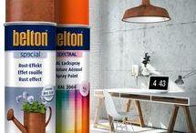 belton Produkte // belton products / belton das Lackspray für kreatives und dekoratives Sprühlackieren