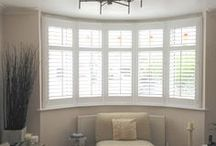 Living Room Shutters and Blinds / Browse our gallery of completed reception room and lounge wooden shutters. Fantastic for adding privacy to overlooked rooms without compromising on the amount of light entering your room.