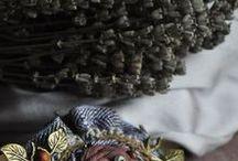 броши текстильные