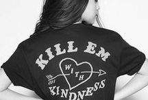Selena Gomez / Kill em with kindness go ahead go ahead now!