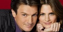 "castle and beckett / ""I really am ruggedly handsome arent I?"""