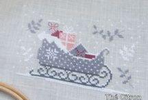 xxx Noel Point de croix / Christmas cross stitch