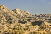 Tabernas - Almeria / Choose Almeria for the Tabernas desert - a landscape of badlands and a backdrop for many famous movies including the Clint Eastwood spaghetti westerns... http://choose-almeria.com/tabernas-desert.php