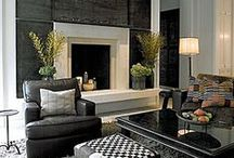 Fireplace design / Fireplace &TV combo / by Natalie R