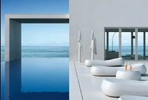 Summer chic / Outdoor furniture, infinity pools