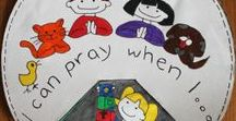 Kids Prayer Idea's / Kids prayer craft and activity idea's.