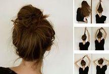 Hair Buns and Braids / Best hair buns and braids for low maintenance ladies!